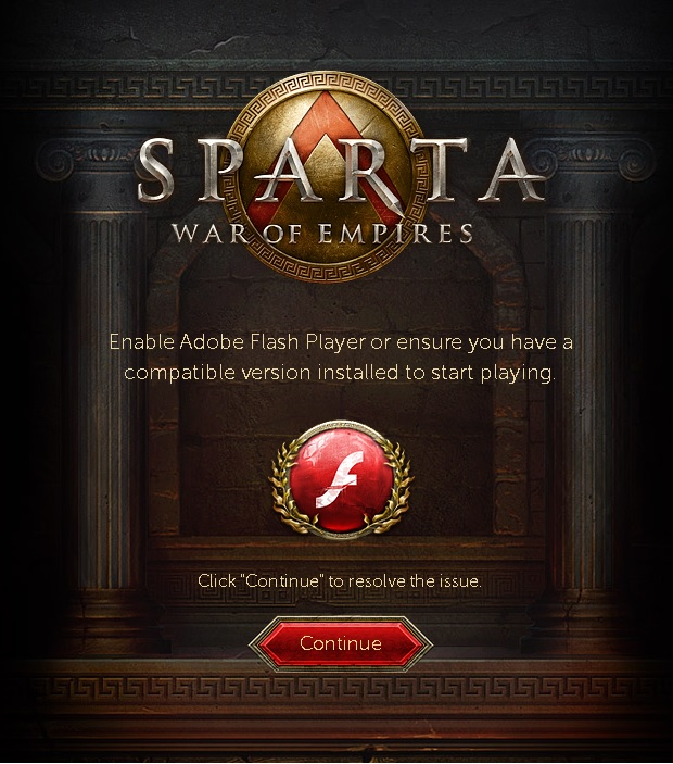 Sparta Community | Archive | The Adobe Flash Player Plugin may be