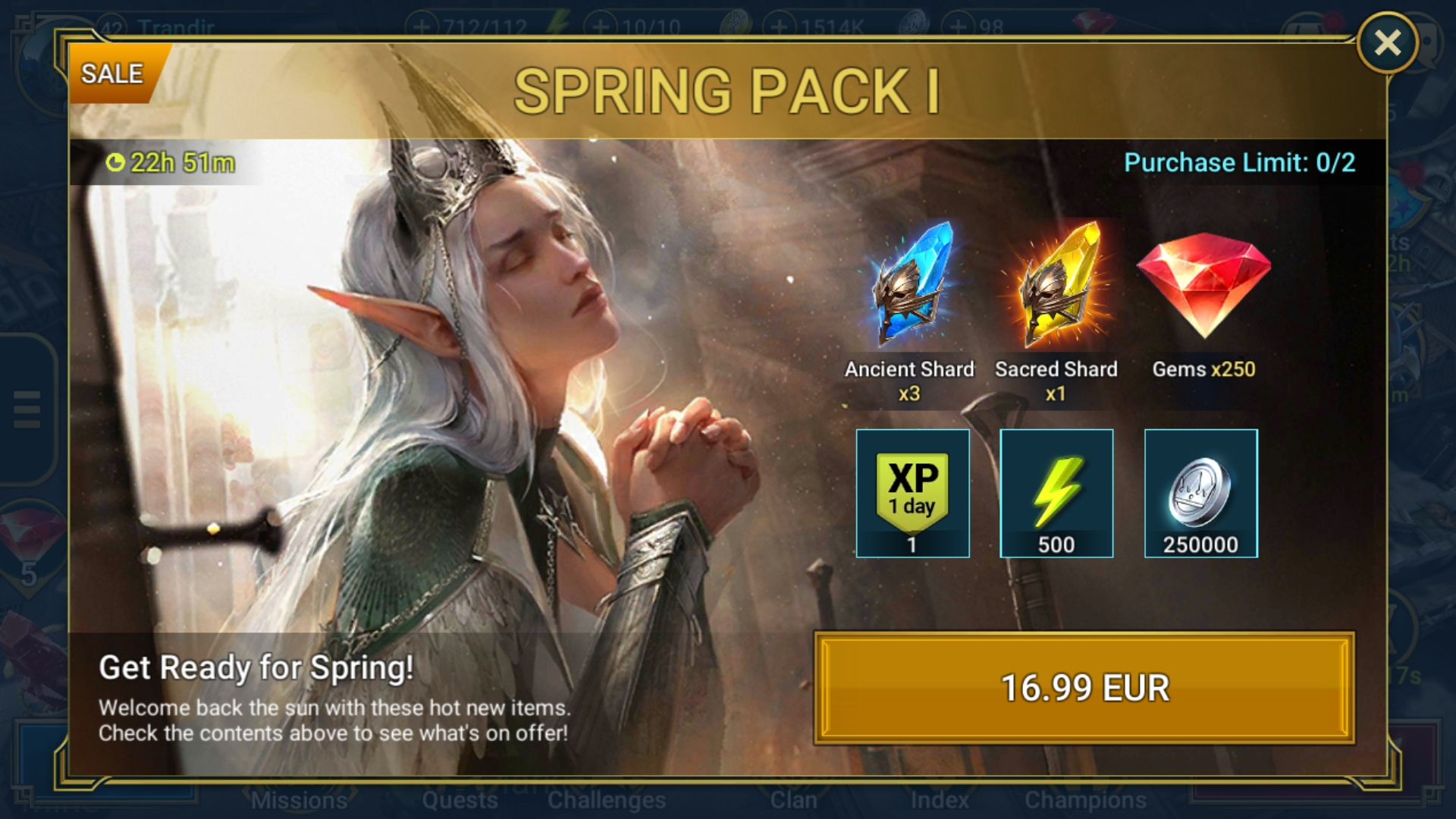 Raid: Shadow Legends Community   Game Discussion   Spring
